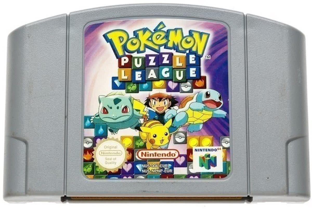 Pokemon Puzzle League - Nintendo 64 [N64] Game PAL